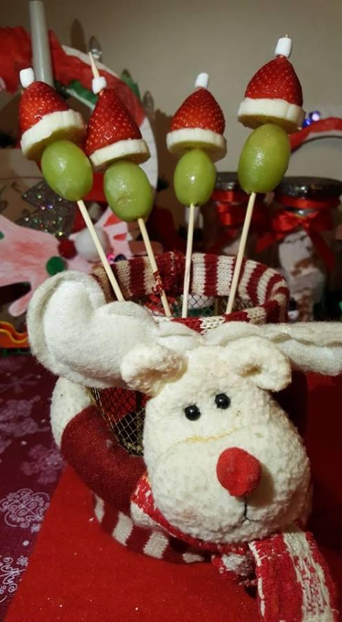 Christmasfruitkebab