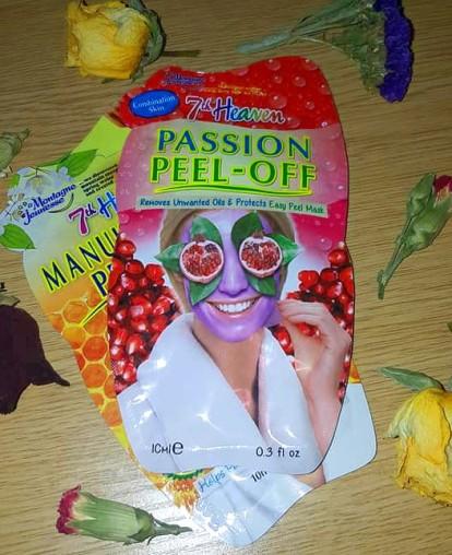 7th heaven peel-off face mask