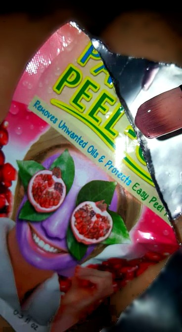 Passion fruit Peel-off Face mask