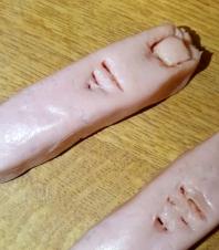 HalloweenDinner-SausageFinger