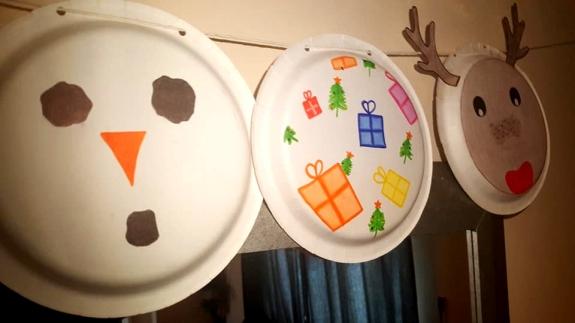 Christmas crafts diy christmas bunting