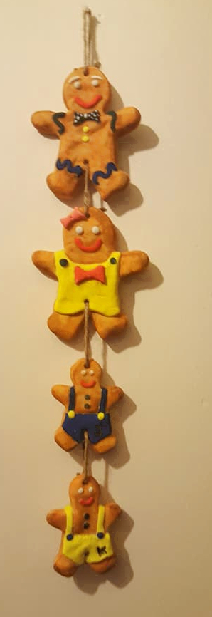 Salt Dough christmas crafts - The Family