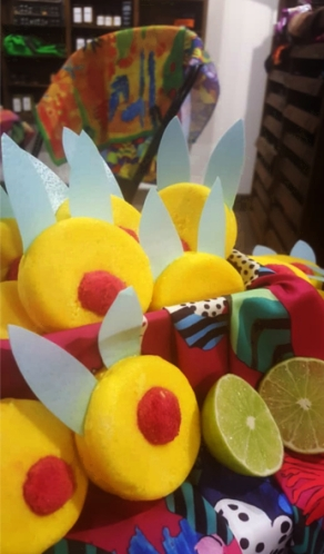wash behind your ears lush easter collection