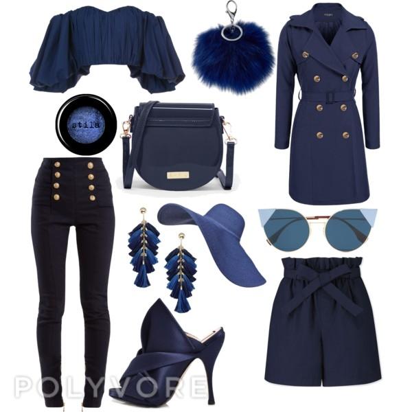 fashion week navy trends