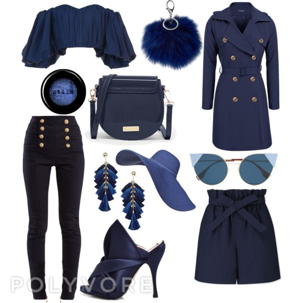 fashion week navy trends