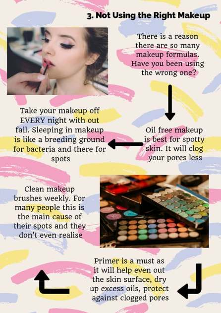 problem skin how to get rid of spots