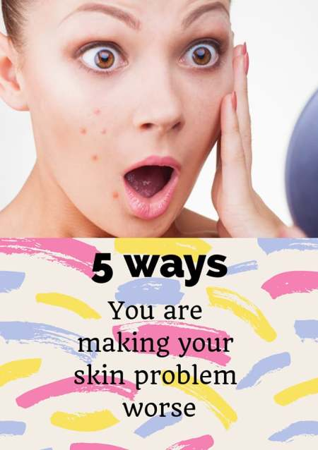 Skin problems how to get rid of spots