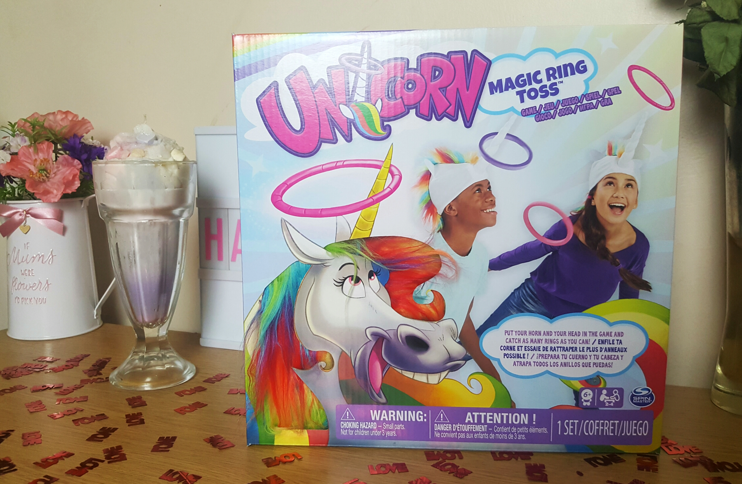 Unicorn Christmas gift