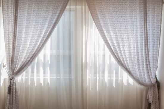 contemporary cozy curtain decoration