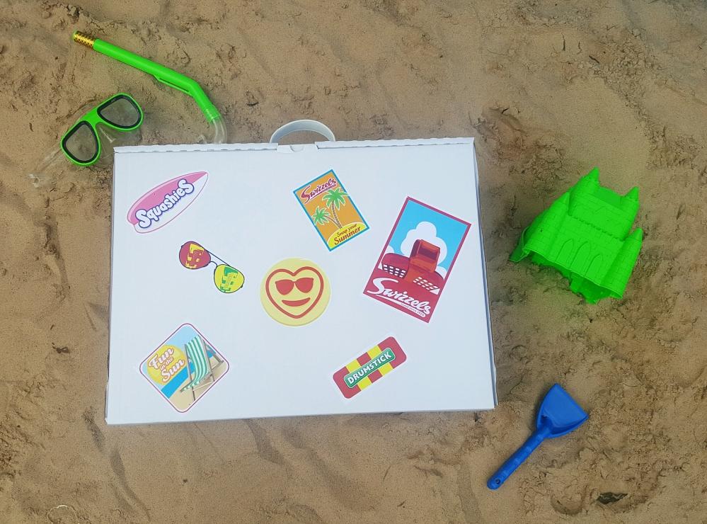 Swizzels sweets suitcase #myswizzelssummer