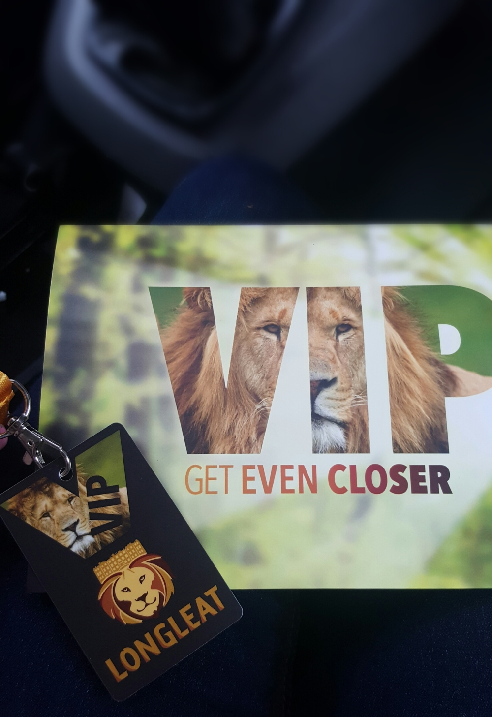 longleat VIP packagd