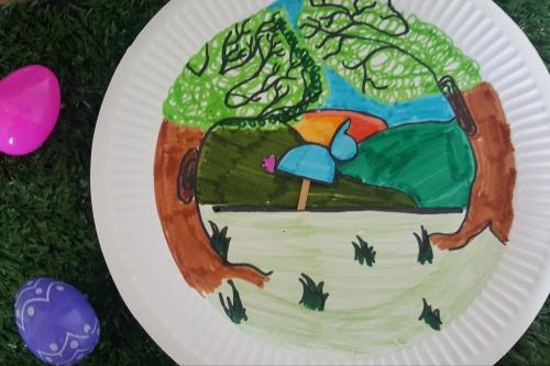 Children's easy Easter crafts