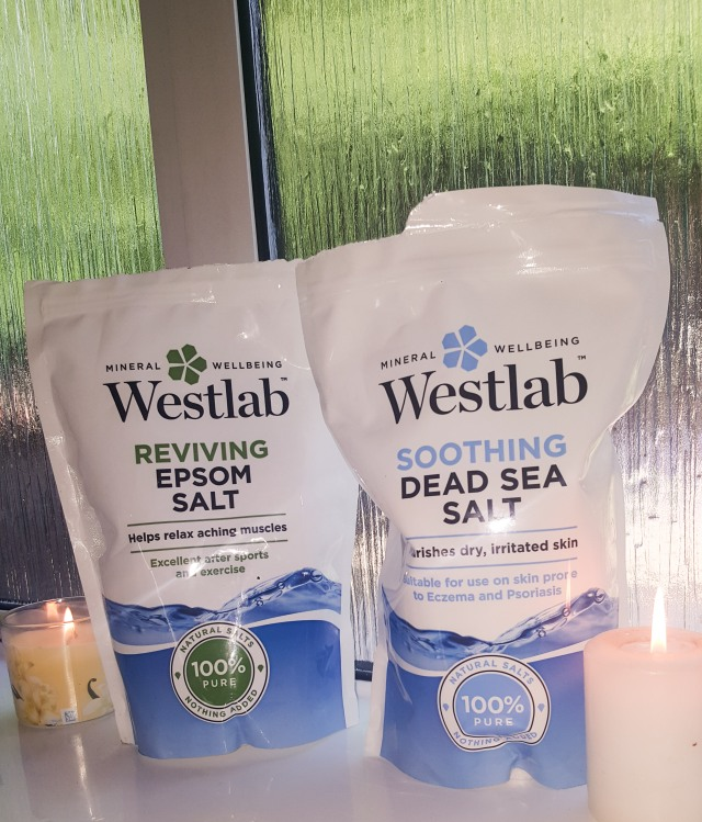 Sea salts lockdown pamper